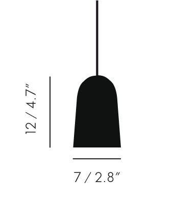 Luminaire - Suspensions - Suspension Bulb Single / Set câble + cache-douille - Tom Dixon - Suspension - Cache-douille chromé / Câble noir - Métal, Tissu, Verre