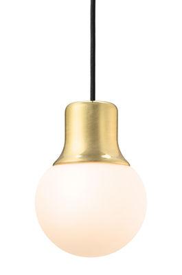 Luminaire - Suspensions - Suspension Mass Light - &tradition - Laiton -  Verre acidé opalin, Laiton laqué