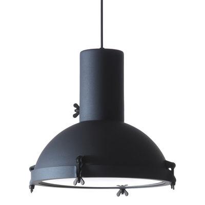 Suspension Projecteur 365 OUTDOOR / Ø 37 cm - Le Corbusier, réédition 1954 - Nemo bleu en métal