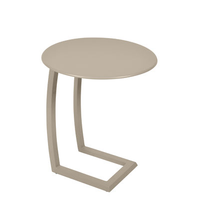Table basse Alizé / déportée - Fermob muscade en métal