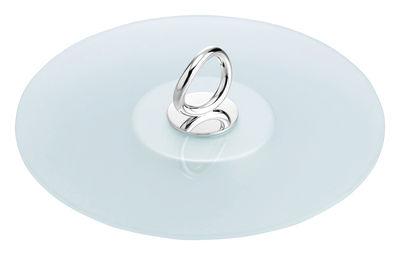 Tableware - Trays - Vertigo Tray - By Andrée Putman - For cheese by Christofle - Transparent - Glass, Metal