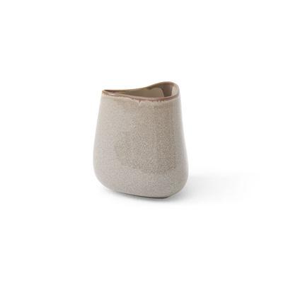 Déco - Vases - Vase Collect SC66 / H 16 cm - Céramique - &tradition - H 16 cm / Gris clair (Ease) - Céramique émaillée