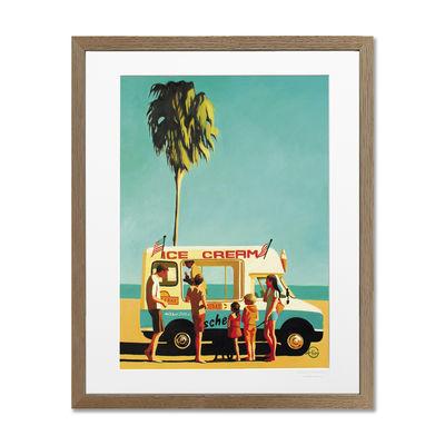 Déco - Stickers, papiers peints & posters - Affiche Emilie Arnoux - 011 Ice Cream Truck / 40 x 50 cm - Image Republic - Ice Cream Truck - Papier mat