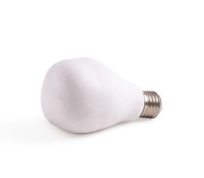 Ampoule LED Fingers / Porcelaine - E27 230V - Seletti blanc en céramique
