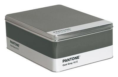 Déco - Pour les enfants - Boîte Pantone /H 11 cm - Seletti - Cool grey 10C - Gris - Métal