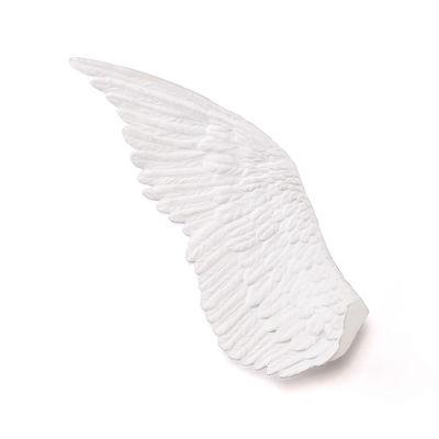 Interni - Oggetti déco - Decorazione Memorabilia Mvsevm - / Ala sinistra - H 80 cm di Seletti - Gauche / Blanc - Porcellana