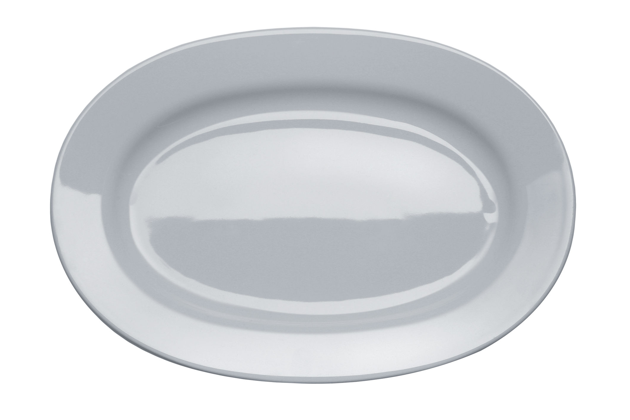 Tableware - Serving Plates - Platebowlcup Dish by A di Alessi - White - China