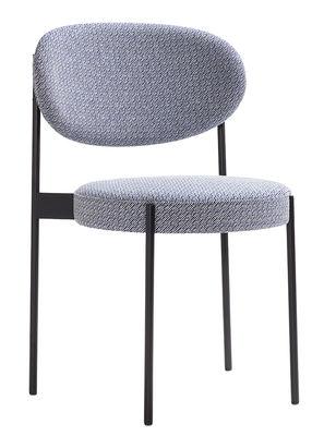 Möbel - Stühle  - Series 430 Gepolsterter Stuhl / stapelbar - mit Stoffbezug von Raf Simons - Verpan - Grau