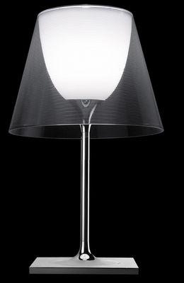 Lampe de table K Tribe T2 - Flos transparent en métal/matière plastique