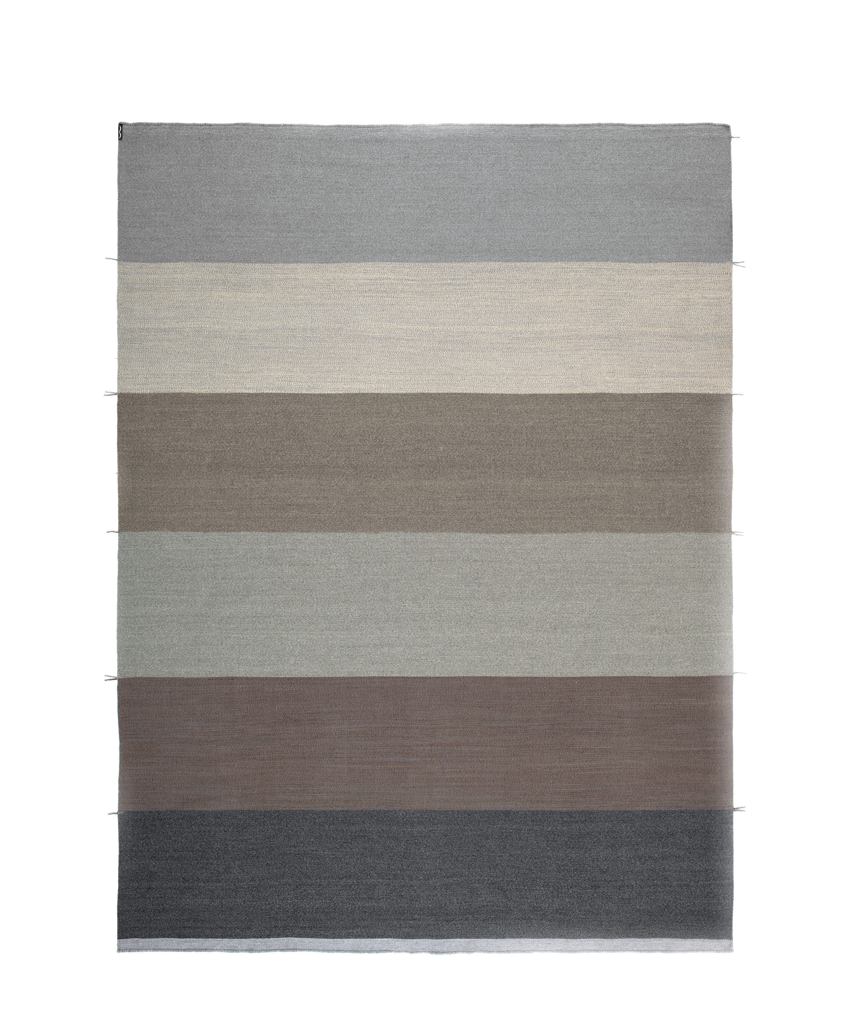 Decoration - Rugs - Mustache - RE Outdoor rug - / Handwoven - 200 x 300 cm by Kristalia - Canvas - Polypropylene