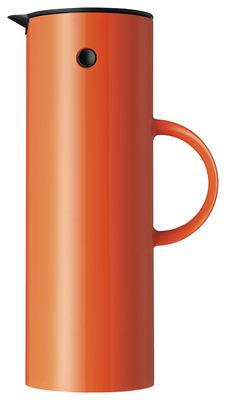 Pichet isotherme Classic / 1 L - Stelton orange en matière plastique