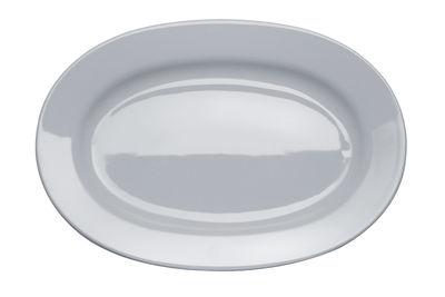 Tischkultur - Platten - Platebowlcup Platte - A di Alessi - Weiß - Porzellan