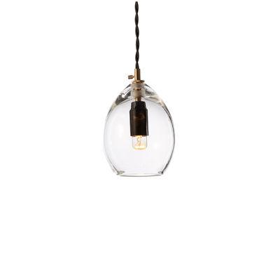 Illuminazione - Lampadari - Sospensione Unika - Small - H 13 cm di Northern  - Small H 13 cm - Trasparente - Vetro soffiato a bocca