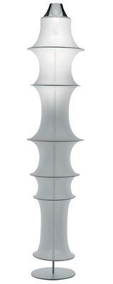 Leuchten - Stehleuchten - Falkland Stehleuchte - Danese Light - Weiß - feuerfeste Ausführung (für öffentliche Räume) - elastisches Gewebe, Stahl