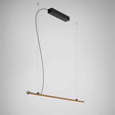 Suspension Freeline LED / L 100 cm - Fabbian métal en métal