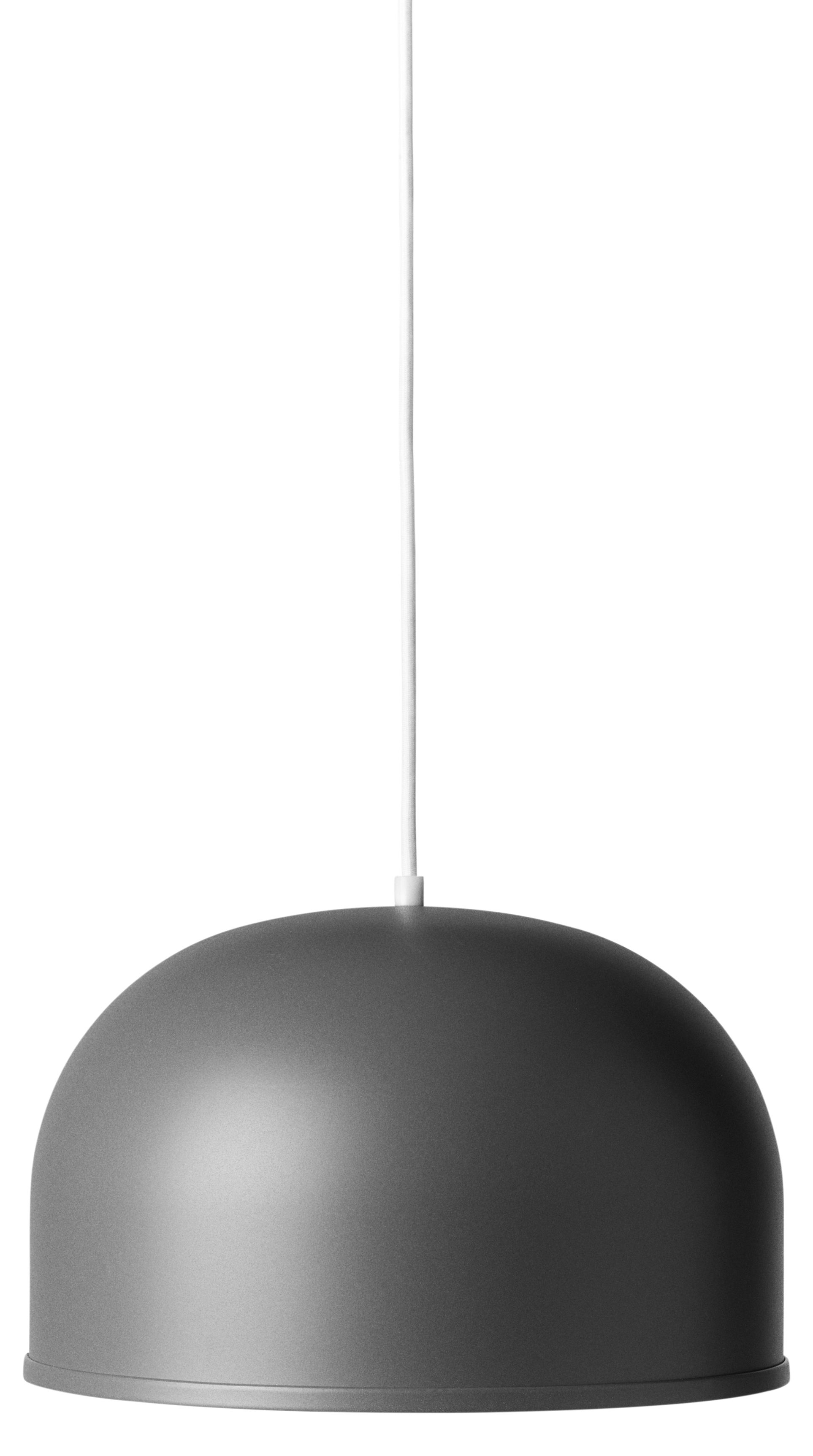 Luminaire - Suspensions - Suspension GM / Ø 30 cm - Métal - Menu - Anthracite - Acier laqué