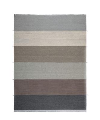 Tapis d'extérieur Mustache - RE / Tissé main - 200 x 300 cm - Kristalia marron,gris,beige en tissu