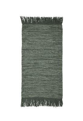 Teppich / Wolle - 60 x 120 cm - Bloomingville - Grün