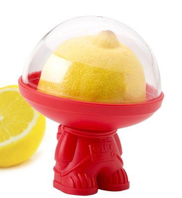 Cuisine - Boîtes, pots et bocaux - Boîte hermétique Astro / Pour fruits entamés - Pa Design - Rouge - Plastique dur