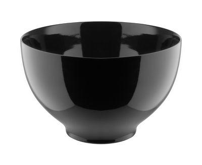 Bol Tonale Large / Ø 18 cm - Alessi noir en céramique
