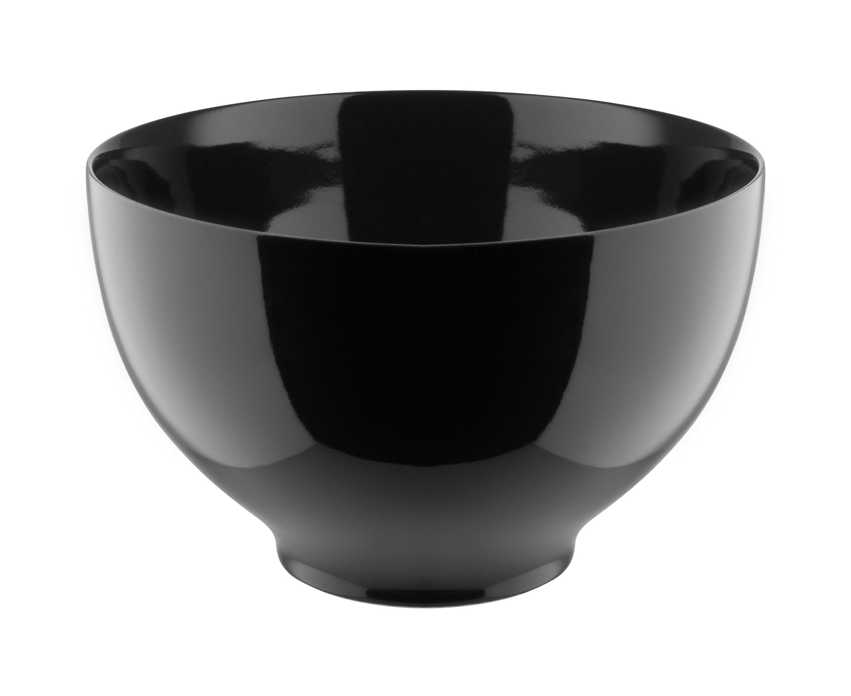 Tavola - Ciotole - Ciotola Tonale - Large / Ø 18 cm di Alessi - Nero - Ceramica stoneware