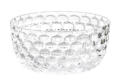 Arts de la table - Saladiers, coupes et bols - Coupelle Jellies Family / Ø 14 cm - Kartell - Cristal - Technopolymère thermoplastique
