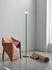 Lampada a stelo Bellhop - / Base cemento - H 178 cm di Flos