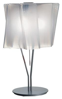 Lampe de table Logico grande H 64 cm - Artemide blanc en métal/verre