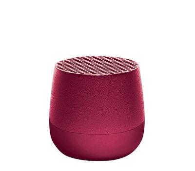 Accessoires - Enceintes audio & son - Mini enceinte Bluetooth Mino / Sans fil - Recharge USB - Lexon - Prune - ABS, Aluminium