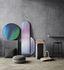 miroir mural long fritz hansen verre rose h 161 made in design. Black Bedroom Furniture Sets. Home Design Ideas
