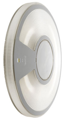 Leuchten - Wandleuchten - Lightdisc Outdoor-Wandleuchte Deckenlampe - Ø 32 cm - Luceplan - Transparent - Polykarbonat