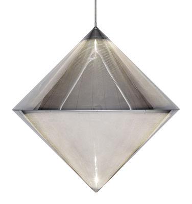 Top Pendelleuchte / LED - mikroperforierter Stahl - Tom Dixon - Verchromt