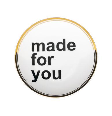 Tavola - Piatti  - Piatto da dessert Made For You - / Ø 17 cm - Edizione limitata & numerata - 20 ans MID di Bitossi Home - Rosa - Porcellana