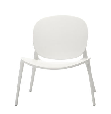 Arredamento - Poltrone design  - Poltrona Be Bop - / Outdoor di Kartell - Bianco - Polipropilene