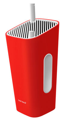 Accessoires - Réveils et radios - Radio Go Berlin / FM - Portable - Sonoro - Rouge - Caoutchouc, Matière plastique