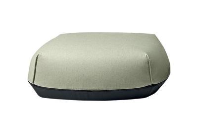 Möbel - Sitzkissen - Brioni Sitzkissen / outdoorgeeignet - Large - Kristalia - Moosgrün - Polyesterfaser, Polyurhethan, Sunbrella-Gewebe