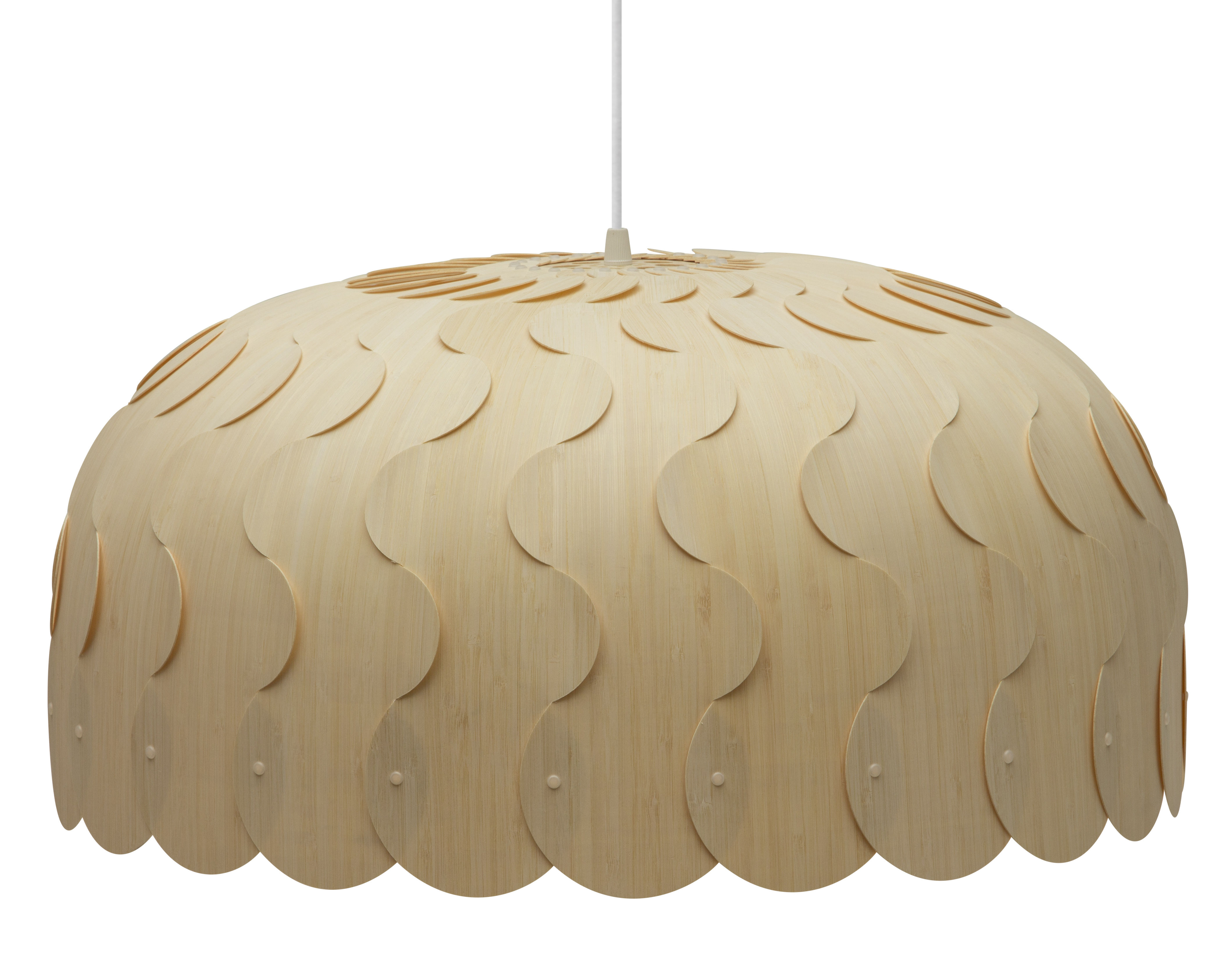 Illuminazione - Lampadari - Sospensione Beau / Large - Ø 75 cm - David Trubridge - Large : Ø 75 cm - Bambù, Nylon