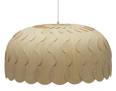 Luminaire - Suspensions - Suspension Beau / Large - Ø 75 cm - David Trubridge - Large : Ø 75 cm - Bambou, Nylon