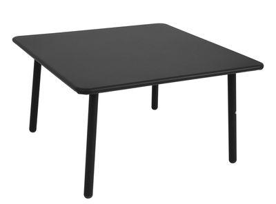 Mobilier - Tables basses - Table basse Darwin / 70 x 70 cm - Emu - Noir - Acier verni
