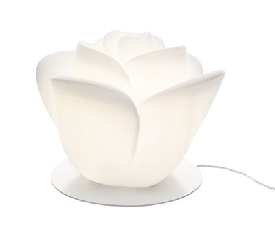 Lighting - Table Lamps - Baby Love Table lamp - Table lamp by MyYour - White - Lacquered steel, Plastic material