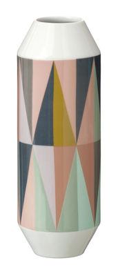 Dekoration - Vasen - Spear Vase - Ferm Living - Mehrfarbig - Vase - Porzellan