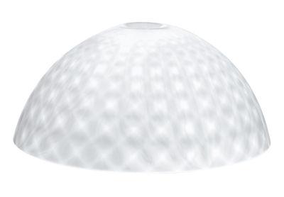 Abat-jour Stella XL / Ø 67 cm - Koziol blanc opaque en matière plastique