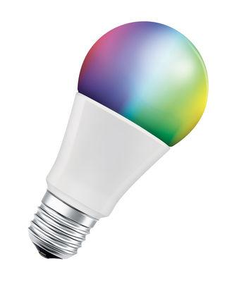 Ampoule LED E27 connectée / Smart+ Multicolore RGBW - Standard 10W= 60W - Ledvance blanc en verre