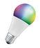 Ampoule LED E27 connectée / Smart+ Multicolore RGBW - Standard 10W= 60W - Ledvance