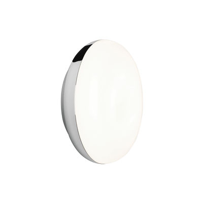 Illuminazione - Lampade da parete - Applique Altea LED - / Plafoniera - Ø 15 cm / Policarbonato di Astro Lighting - Cromo - Alluminio, policarbonato