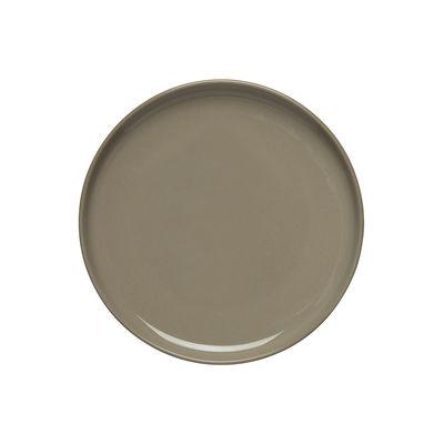 Arts de la table - Assiettes - Assiette à mignardises Oiva / Ø 13,5 cm - Marimekko - Oiva / Beige Terre - Grès