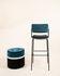 Double Jeu Bar chair - / H 76 cm - Padded by Maison Sarah Lavoine