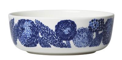 Bol Oiva Mynsteri / Ø 13 cm - Marimekko blanc,bleu en céramique