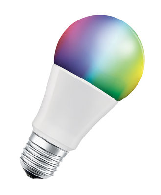 Lighting - Light Bulb & Accessories - Connected LED E27 bulb - / Smart+ RGBW multicoloured - Standard 10 W = 60 W by Ledvance - White - Glass