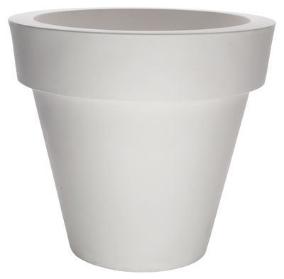Outdoor - Pots & Plants - Vas-One Flowerpot by Serralunga - White - Polythene